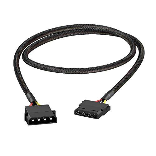 KabelDirekt - 4-Pin Molex Verlängerungskabel 60 cm
