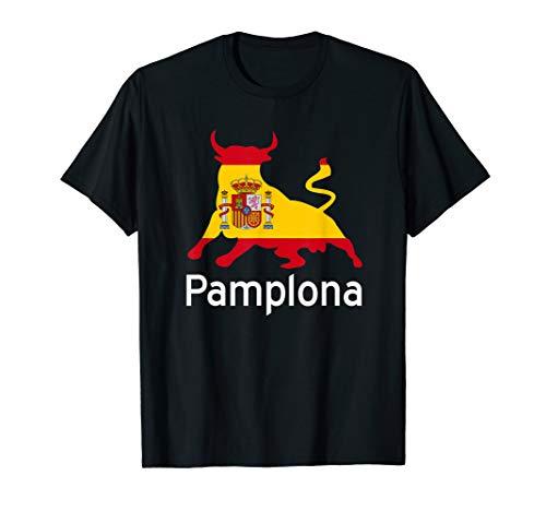 Pamplona Spain Running of the Bulls T-Shirt