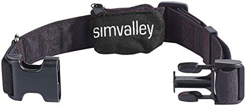 simvalley MOBILE Zubehör zu GPS-Tracker für Senioren: Hundehalsband 20-40 cm für GPS-/GSM-Tracker GT-340 (GPS-Tracker mobil)