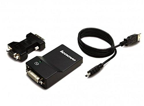 Lenovo 0B47072 - LENOVO USB 3.0 TO DVI/VGA ADAPTER