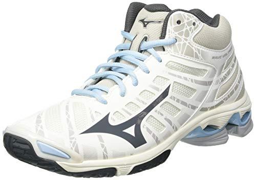 Mizuno Wave Voltage Mid, Zapatillas de vóleibol Mujer, Moonstruck Dshade Afall, 43.5 EU