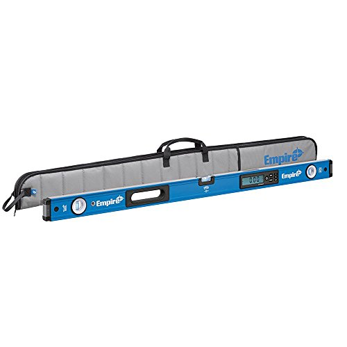 "Empire Level em105.48 48"" True Blue Magnetic Digital Box Level with Case"