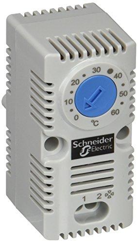 Schneider Electric NSYCCOTHO Termostato Sencillo (NA Vent) Azul (ºC)