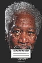 Notebook: Morgan Freeman , Journal for Writing, Size 6
