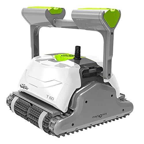 DOLPHIN Robot de Piscine électrique Maytronics T60 – Robot de Piscine Autonome, Nettoyage des...