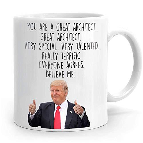 Taza de cerámica, taza de arquitecto, regalo de arquitecto, regalo de arquitectura, regalo de arquitecto para hombres, regalo de arquitecto para mujeres, idea de regalo de arquitecto, regalo f