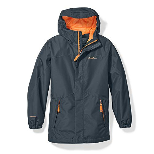 Eddie Bauer Boys' Rainfoil Jacket, Storm Regular M