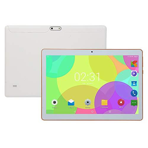 tablet PC PC de 10 Pulgadas Bluetooth/Llamada PC Android PC HD de Pantalla Grande PC Blanco Dorado Negro