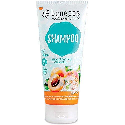 Benecos Shampoo, Aprikose und Holunderblüte, 200 ml