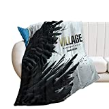 Resident_Evil Village Lady Dimitrescu Throw Blanket,Super Soft and Comfortable Summer Air-Conditioned Blankets40×50'