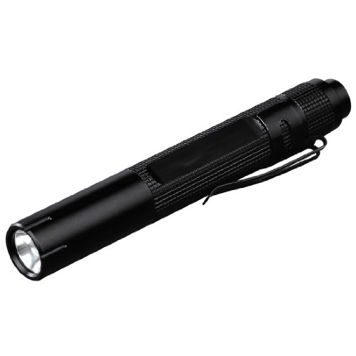 Hama Classic (Bolígrafo Linterna, Negro, LED, 30000 h, 17 LM, 30 m)