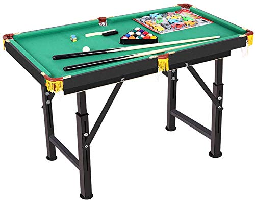 Billard/Billardtisch, Indoor-Billardtisch für Kinder und Erwachsene, tragbar und beweglich, kompletter Satz Werkzeuge zum Zusammenklappen von 4-Fuß, kreatives Tischspiel