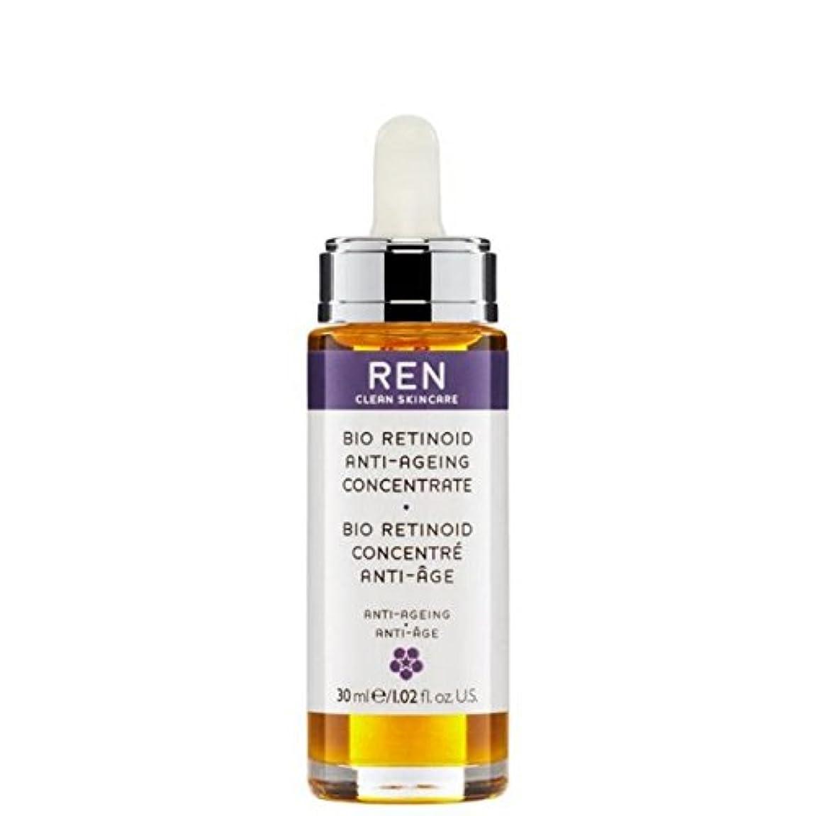 宿る暴露行くREN Bio Retinoid Anti-Wrinkle Concentrate Oil - バイオレチノイド抗しわ濃縮油 [並行輸入品]