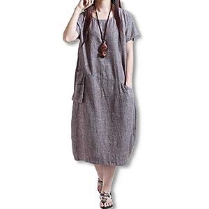 [スロウライド] レディース ミセス 大人 女の子 子供 学生 小学生 ガールズ キッズ コクーン ワンピース わんぴーす チュニック ドレス どれす シャツ しゃつ ブラウス スカート すかーと ミモレ丈 シフォン フレア フリル 丸襟 膝丈 楽ちん ゆったり 大きい 大きめ サイズ おしゃれ 可愛い かわいい きれいめ カジュアル フォーマル 部屋着 夏 夏物 秋 秋冬 冬 冬用 ブラウン M
