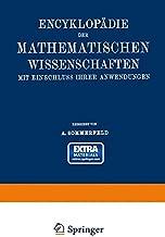 Encyklopädie der mathematischen Wissenschaften mit Einschluss ihrer Anwendungen: Bd. 5, Teil 1. Physik (German Edition)