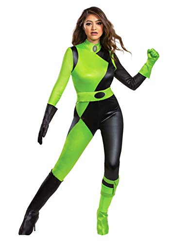 Disguise Kim Possible Animated Series Women's Shego Fancy Dress Costume Large
