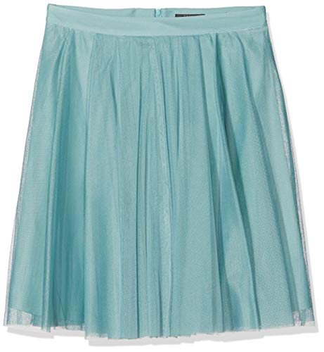 ESPRIT Collection Damen 037EO1D010 Rock, Grün (Dusty Green 335), 42