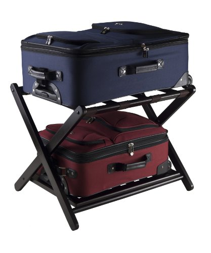 Winsome 92436 Luggage Rack with Shelf