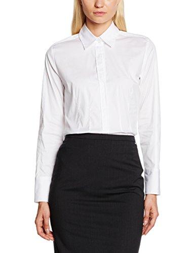 Daniel Hechter Damen 60020 700750 Bluse, Weiß (White 10), 40