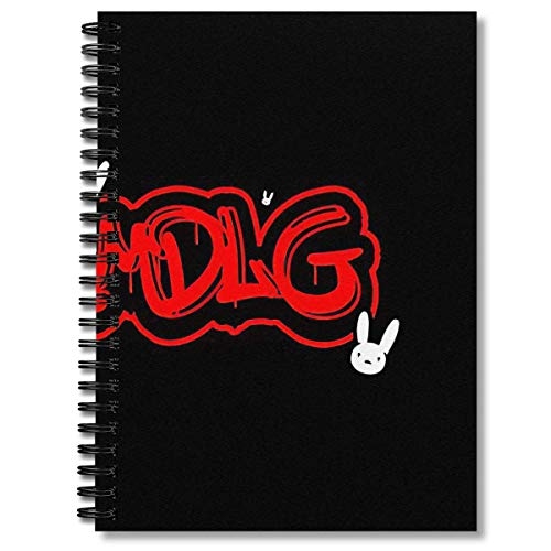 Spiral Notebook Yhlqmdlg Bad Bunny Composition Notebooks Journal With Premium Thick Comic Book Paper
