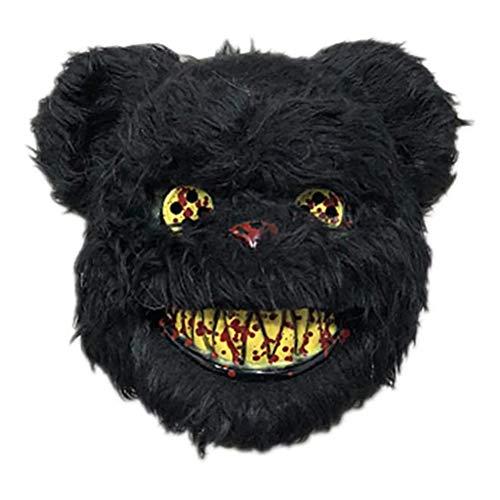 NANUNU Halloween Horror Mundschutz Kaninchen Bär Cosplay Karneval-Partei-Kostüm Weihnachten HalloweenCover Kostüm-Halloween-Cosplay Werkzeuge