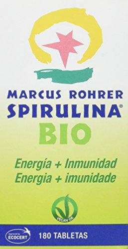 Marcus Rohrer Spirulina BIO Complemento Alimenticio - 180 Tabletas