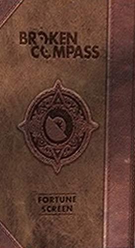 Broken Compass: Schermo del Fortune Master-Mappa del Mondo. Ediz. Italiana