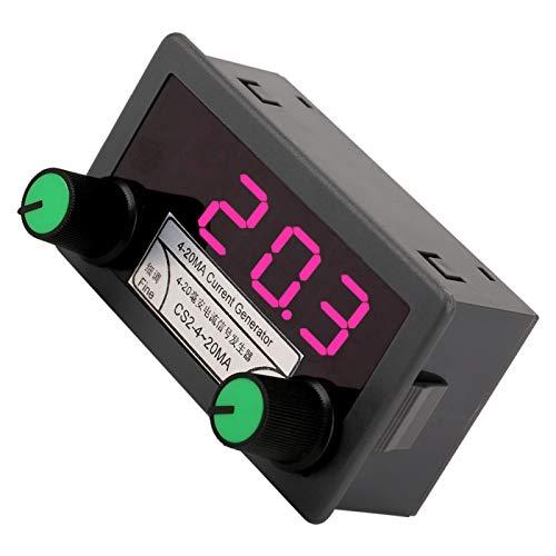 DC4-20mA Hochheller Analogsignalgenerator Digitale Röhrenanzeige Einstellen des SPS-Panels DC 7-30V SPS-Debugging für die Wechselrichtersteuerung
