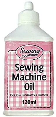 2Pcs Sewing Machine Oil Cleans Lubricates & Protects Multi Purpose 120ml Rapider