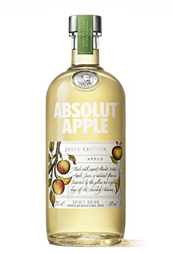 Absolut Vodka Apple Juice Edition - pack 3 botellas x 500 ml
