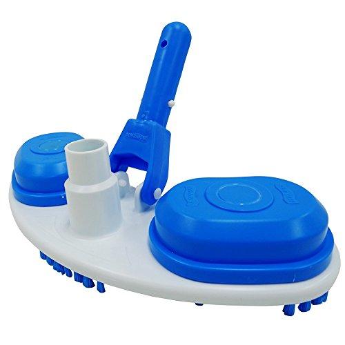 Aspirador Slim p/ piscinas de vinil, fibra e alvenaria