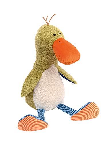 sigikid, Mädchen und Jungen, Stofftier, Silly Duck by Sandra Boynton, grün, 39202
