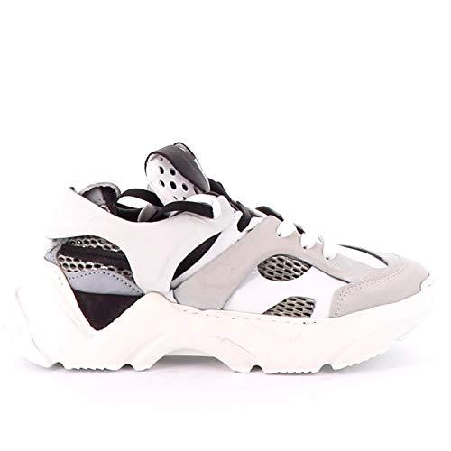 A.S.98 Damen Sneaker Low Monster grau 40