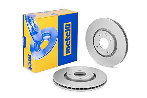 metelligroup 23-0566C Bremsscheiben Lackiert, Kit bestehend aus 2 Bremsscheiben, Ersatzteil im Auto, ECE R90-zertifiziert