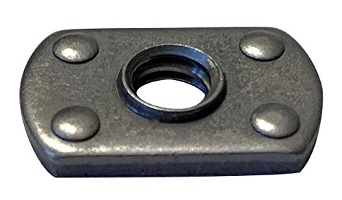 1/2-13 Multi Projection Tab Weld Nut Plain (Pack of 20)