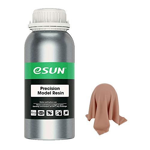 eSUN 405nm LCD 3D Printer Rapid Resin UV Curing Resin Red Wax Rapid Resin High Precision Quick Curing Resin Photopolymer Resin for Photon UV Curing LCD 3D Printer, 500g Pink
