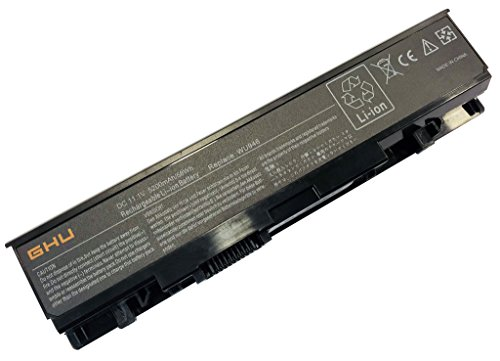 New GHU 6 Cells Battery 58 Wh Replacement for WU946 KM958 312-0701 312-0702 KM901 KM905 MT264 MT276 MT277 RM803 WU960 RM855 Compatible for Dell Studio 1535 1536 1537 1555 1557 1558 PP33L PP39L