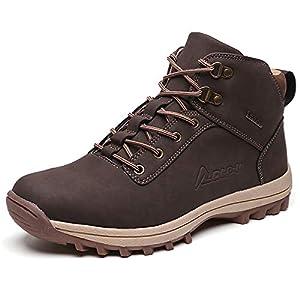 [SAINIMO] メンズブーツ トレッキングシューズ メンズ ハイキングシューズ 登山靴ウォーキングシューズ アウトドアブーツ ハイカットブーツ 防滑 通気性 耐磨耗