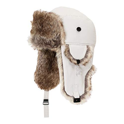 eb's(エビス) スノーボード キャップ FLIGHT CAP フリー 58-60cm程度 beige