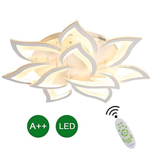 LED Plafondlamp Life Chic Design Plafondlamp Met Afstandsbediening Inbouw Verlichtingsarmatuur Modern Metaal Acryl Voor Woonkamer Slaapkamer Eetkamer Dimbaar Gelakt Afwerking Chique Design