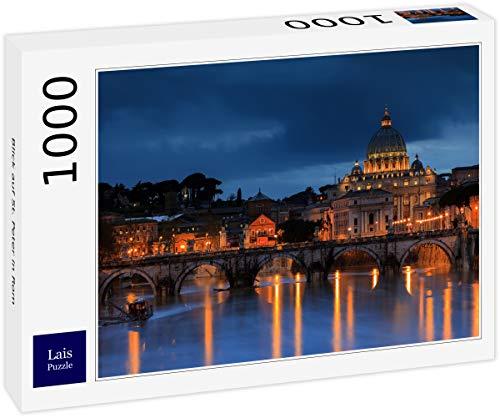 Lais Puzzle Vista de San Pedro en Roma 1000 Piezas