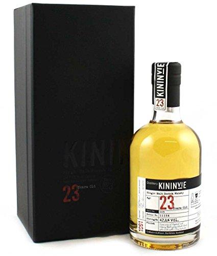 Kininvie Single Malt 23 Jahre Batch No 3. Speyside Single Malt Whisky 0,35 Liter