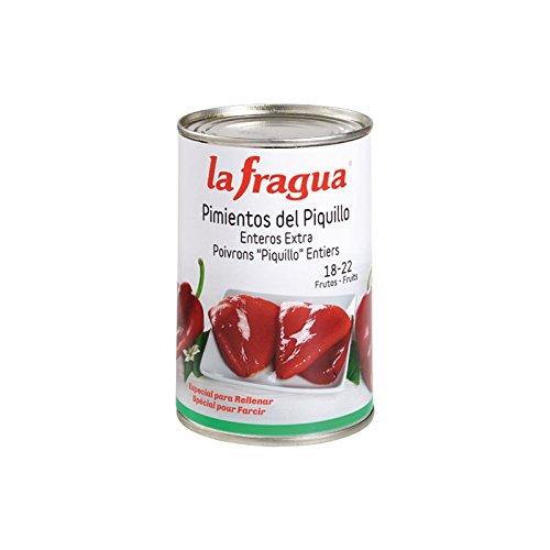 La Fragua Pimientos Del Piquillo Rojos Enteros - 410 gr