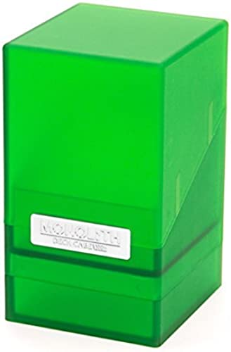 100 Card Monolith Deck Case, Emerald by Ultimate Guard
