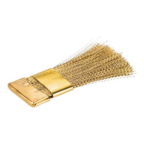 FRCOLOR Taladro de uñas, cepillo de limpieza de alambre de cobre, cepillo...
