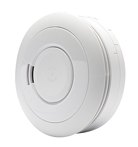 Ei Electronics Professional Ei650i i-Serie-Rauchwarnmelder mit fest eingebauter 10-Jahres-Lithiumbatterie, 3 V, weiß