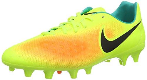 Nike Magista Onda II FG, Botas de fútbol para Hombre, Amarillo (Volt/Black-Total Orange-Clear Jade), 44 EU
