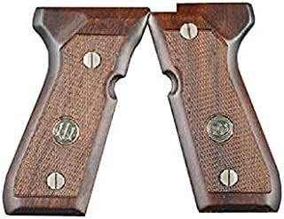 Beretta Grips 92 96FS Walnut Checkered with Medallion