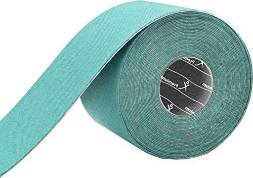 Gatapex Premium Kinesiologie-Tape 5 m x 5cm in aquamarin, aquamarin
