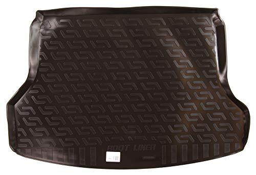 SIXTOL Auto Kofferraumschutz für die Nissan X-Trail III Maßgeschneiderte antirutsch Kofferraumwanne für den sicheren Transport von Einkauf, Gepäck und Haustier